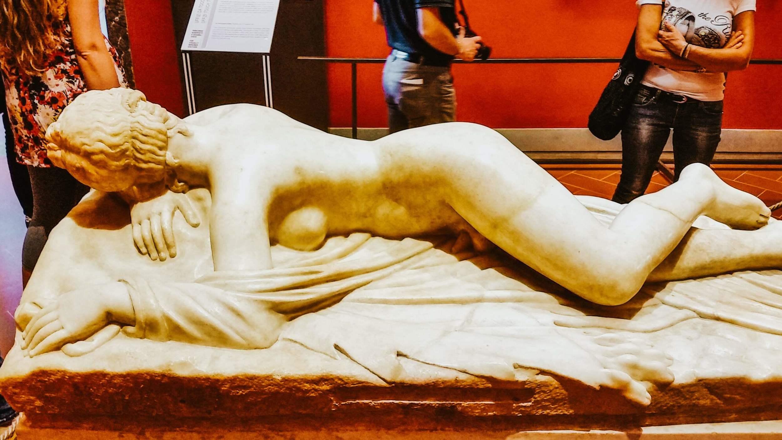 Hermaphrodite in Florence