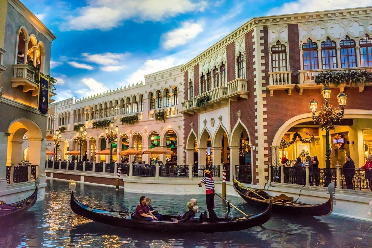 gondola at the Venetian