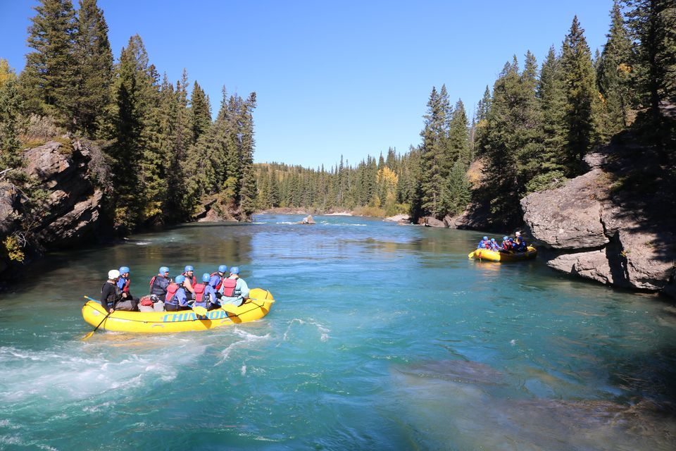 Kananaskis River Whitewater Rafting Tour