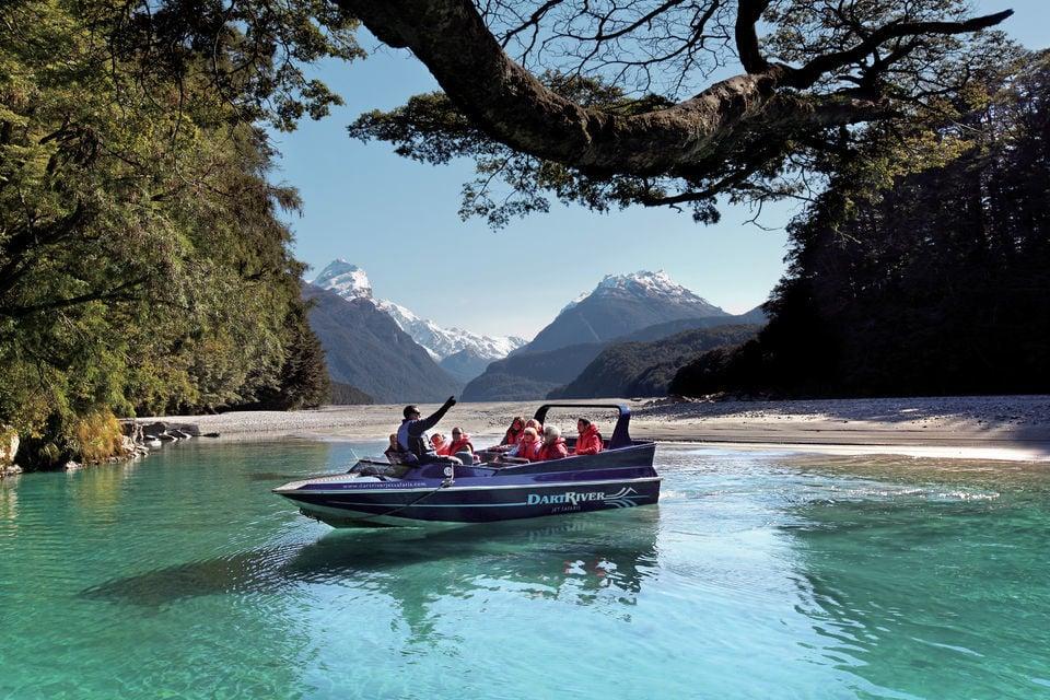 Dart River Jet Boat and Paradise Tour