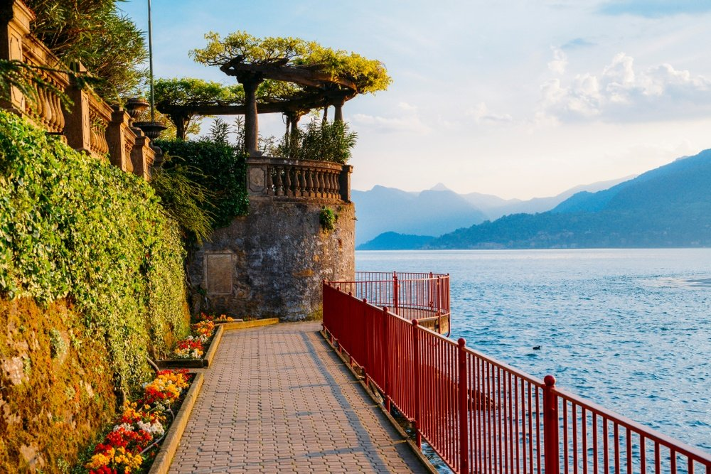 Varenna's Walk of Lovers Promenade