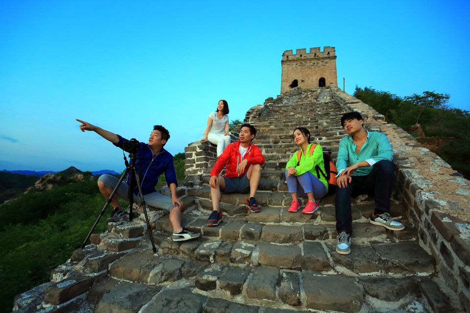 Simatai Great Wall and Gubei Water Town Transfer with Ticket