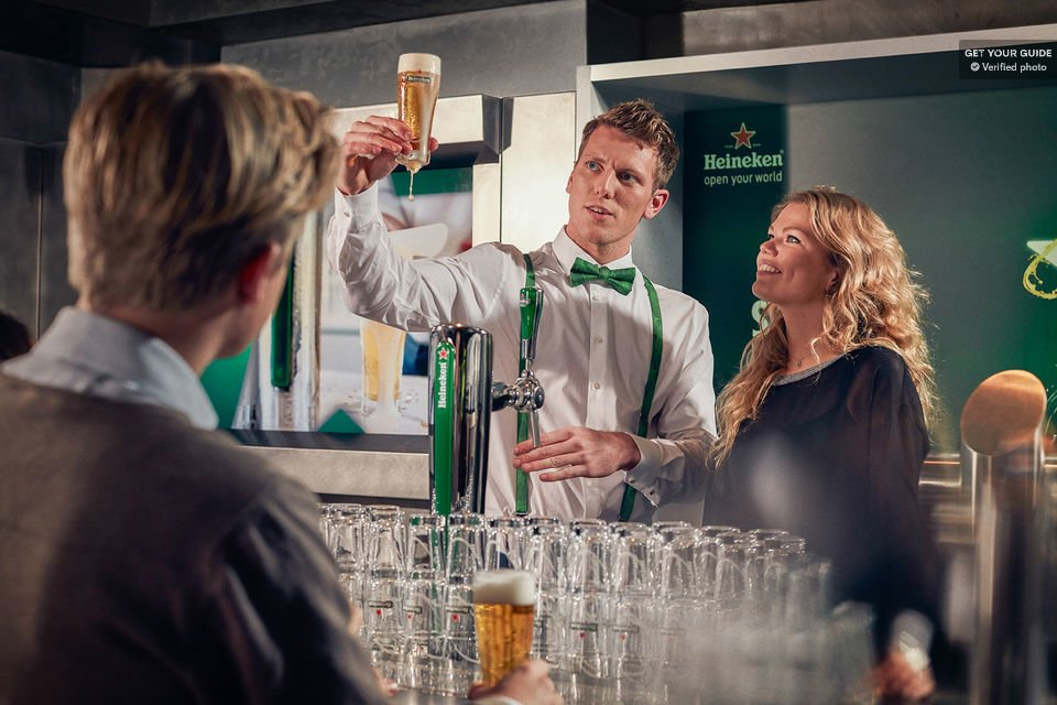 Have a beer or two at the Heineken Experience