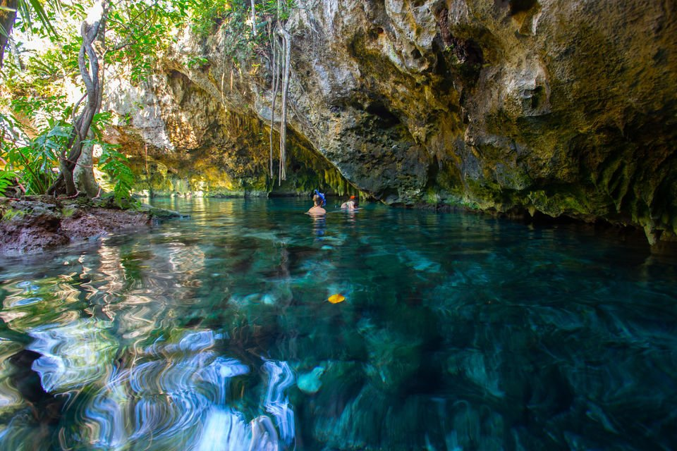 Cenote Trail: Caves Visit and Bike Tour