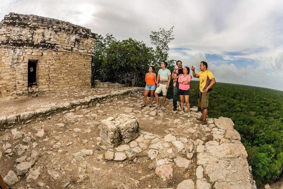 Coba Maya Ville Full-Day Tour