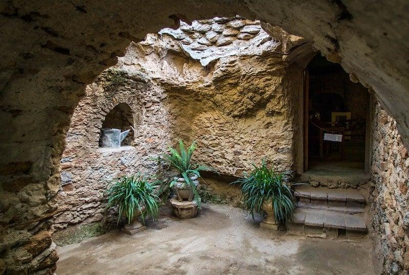 Explore the Underground Gardens