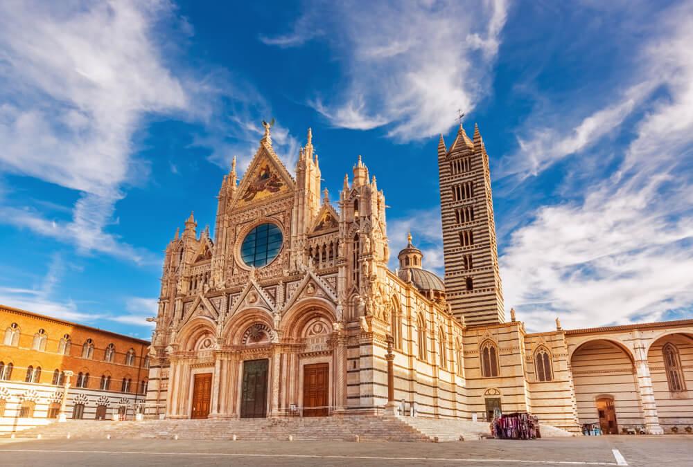 Aquila Siena Italy