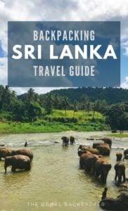 Backpacking Sri Lanka Travel Guide PIN