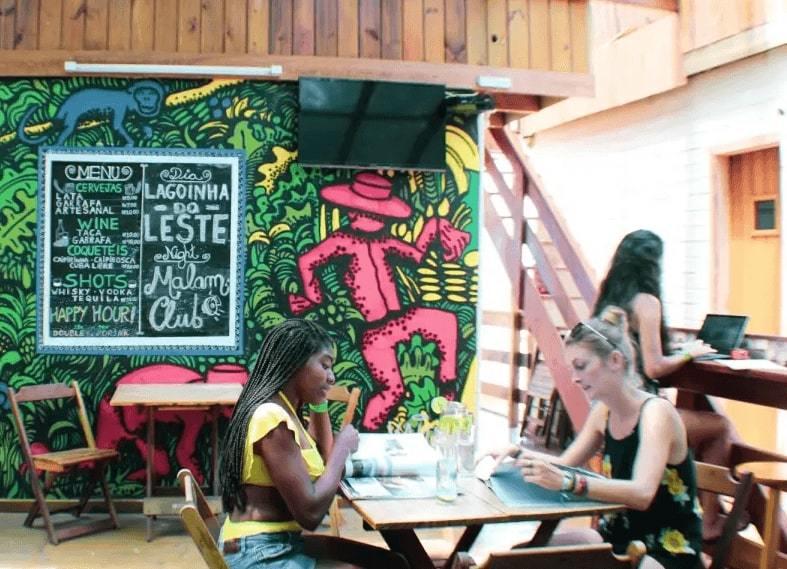 Booz best hostels in Florianopolis