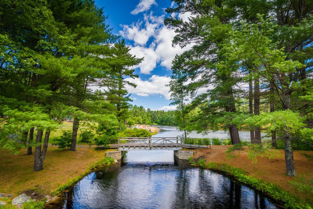Bear Brook State Park, Concord, New Hampshire