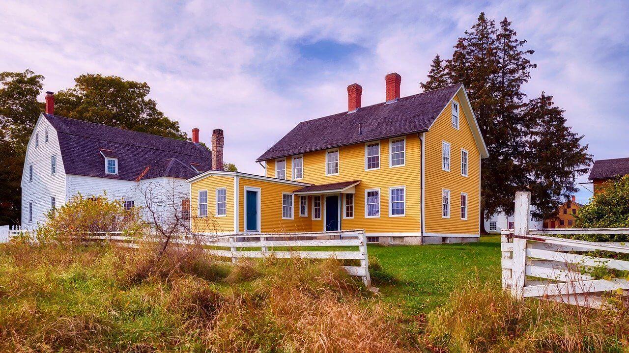 Canterbury Shaker Village, New Hampshire