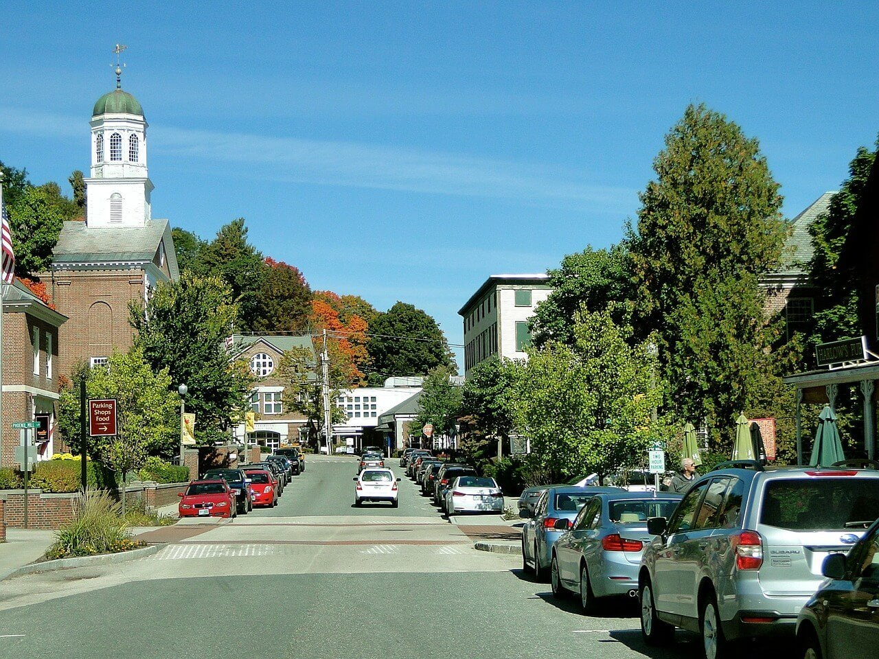 Main Street in New Hampshire