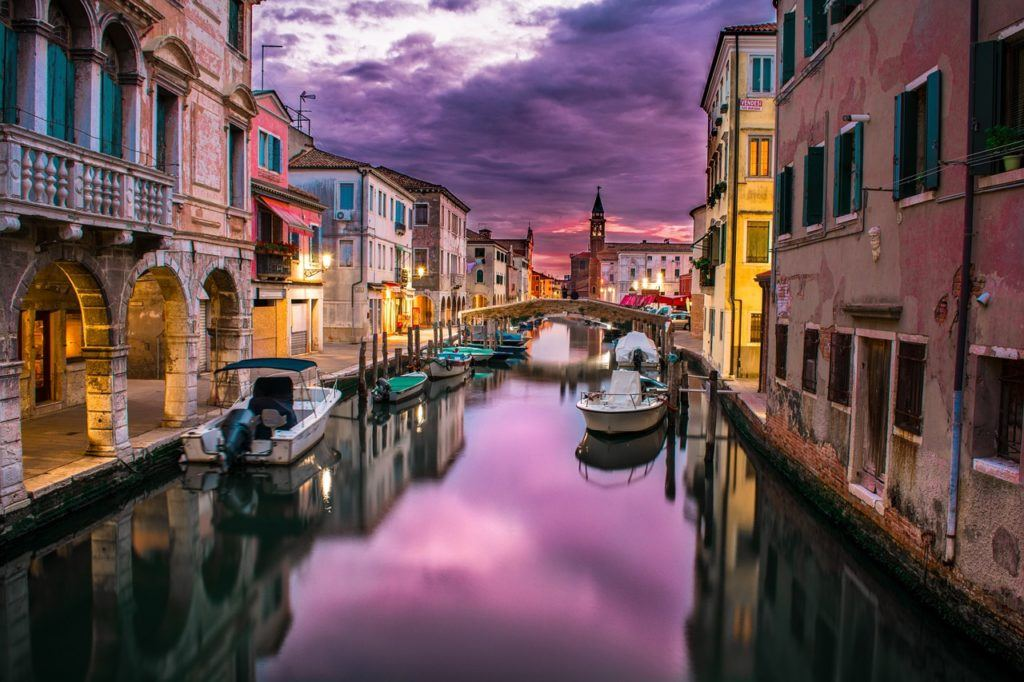 Cruise down the Venice Canals