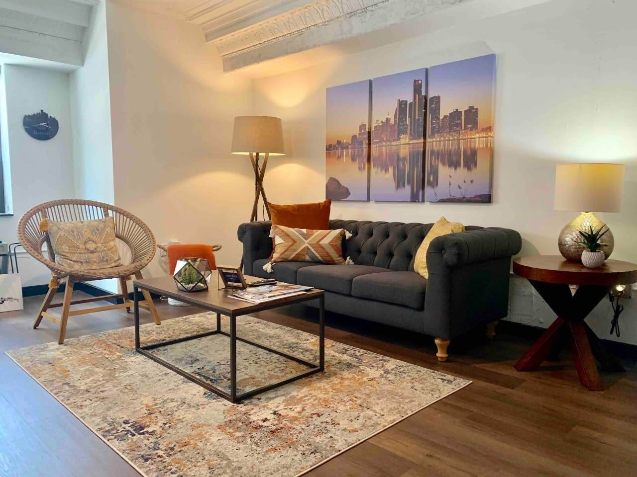 Luxury Apartment in Downtown Detroit