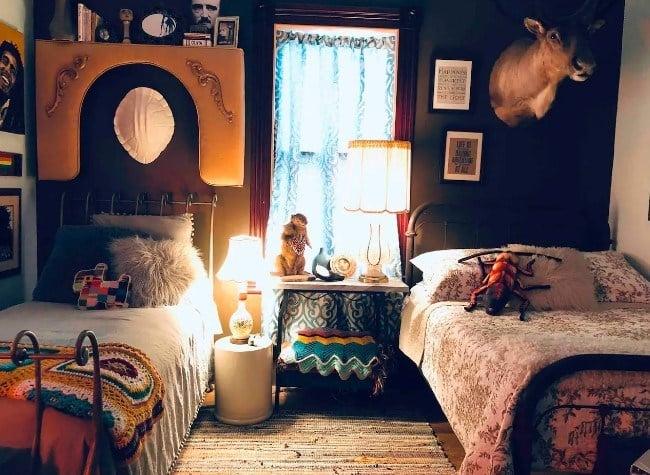 Eclectic Bedroom in Ybor City, Tampa