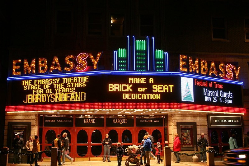 Embassy Theater, Fort Wayne