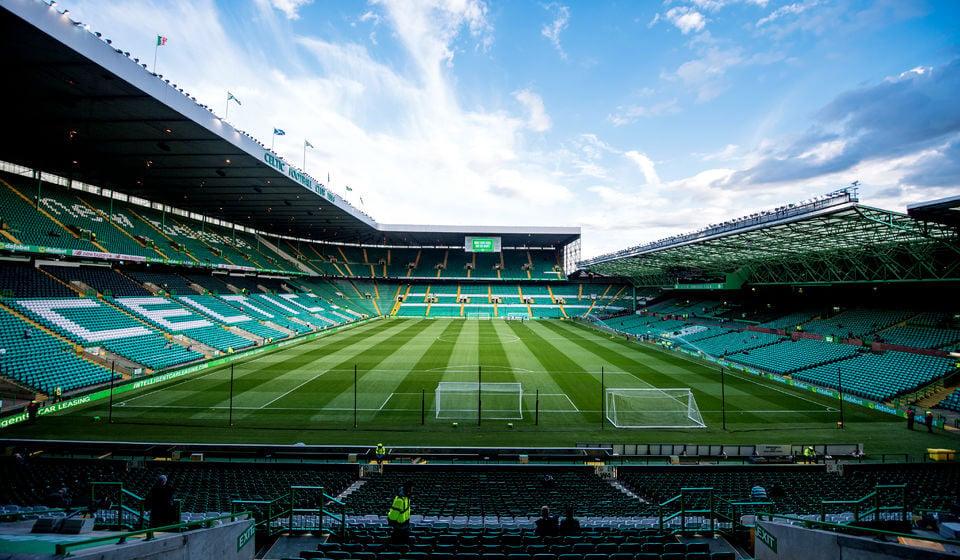 Celtic Park Stadium. Glasgow