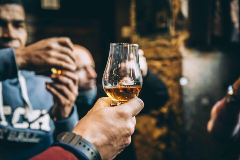 Scottish Whiskey in Glasgow
