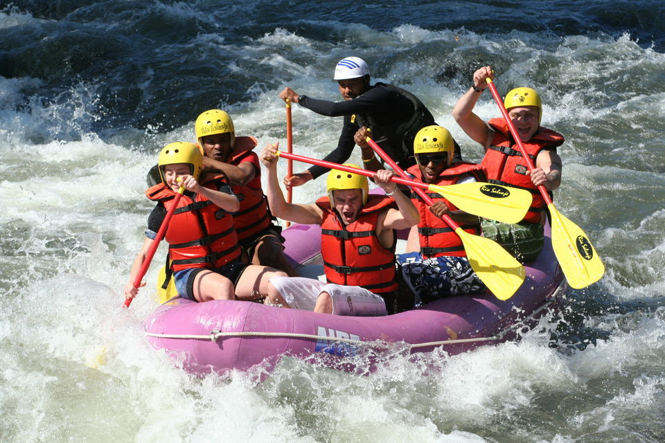 Go River Rafting!