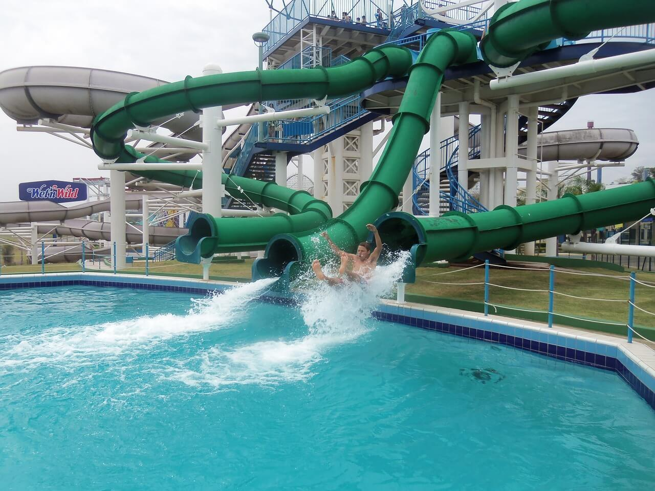 Go for a Swim at the Waterpark