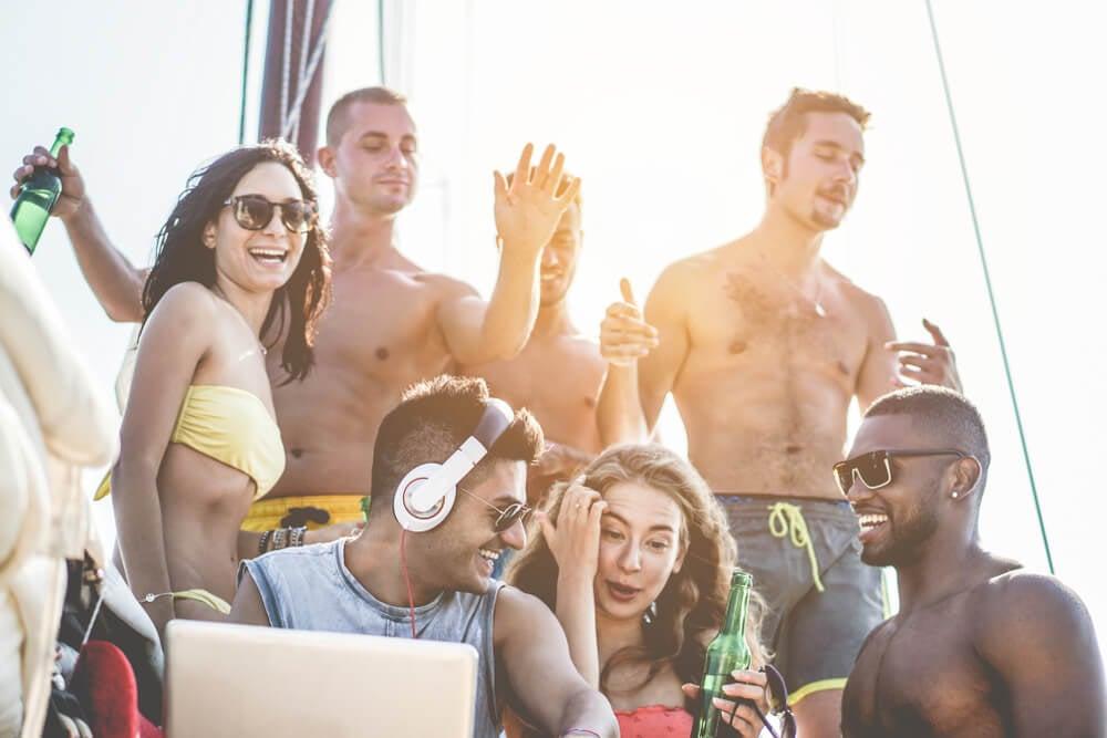 Go on a booze cruise