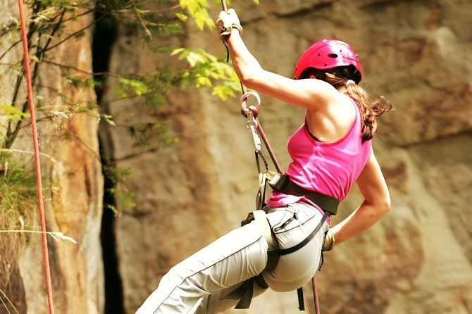 Have fun with some abseiling