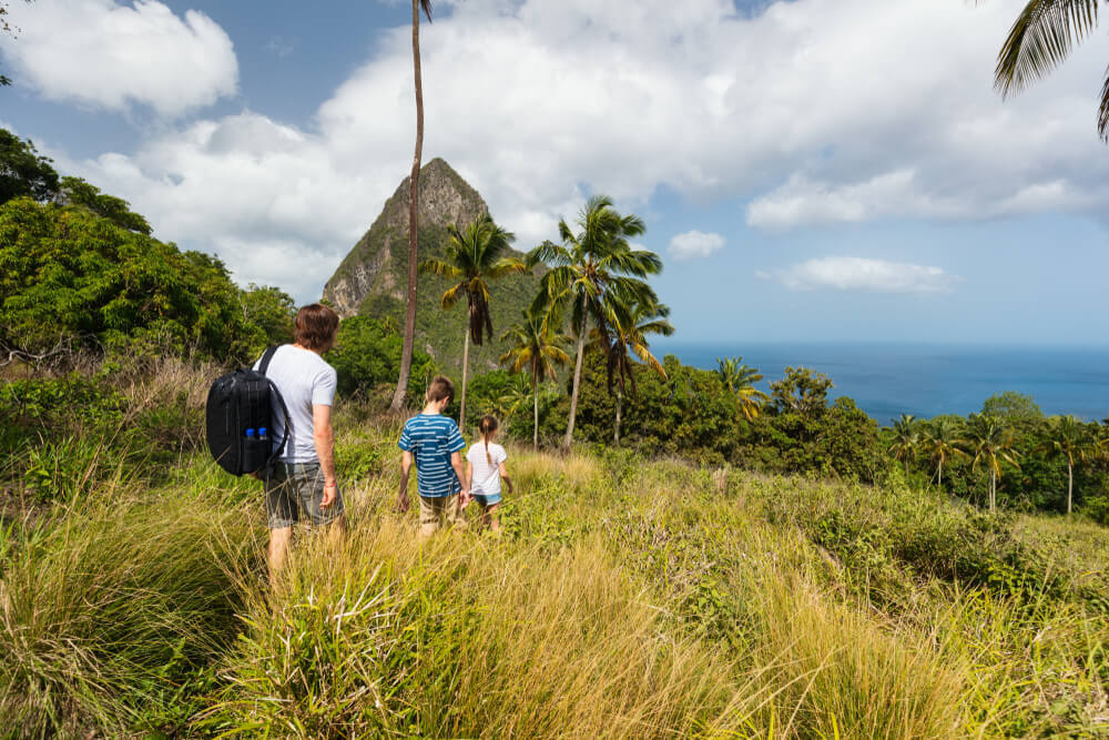 Is Saint Lucia safe to travel for families