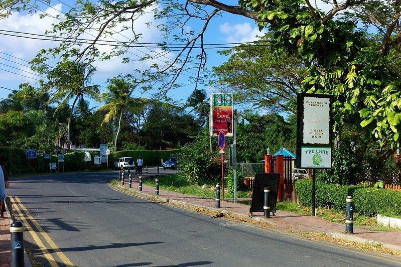 Is it safe to drive in Saint Lucia