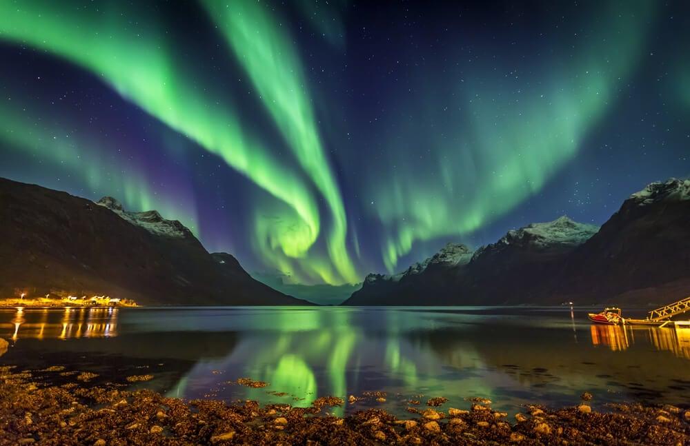 Kvaloya Tromso Norway