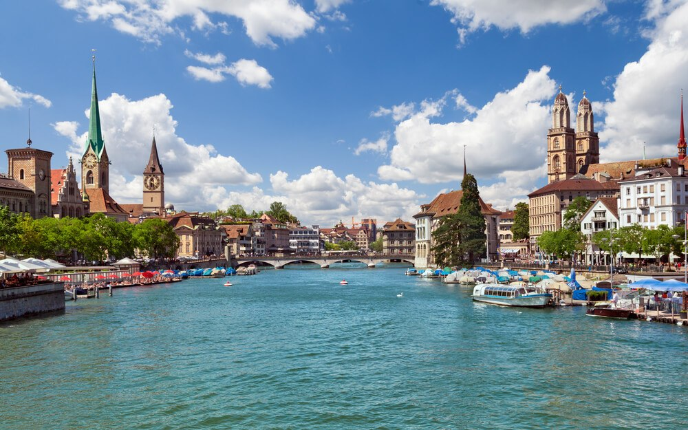 Limmat River, Things to do in Zurich