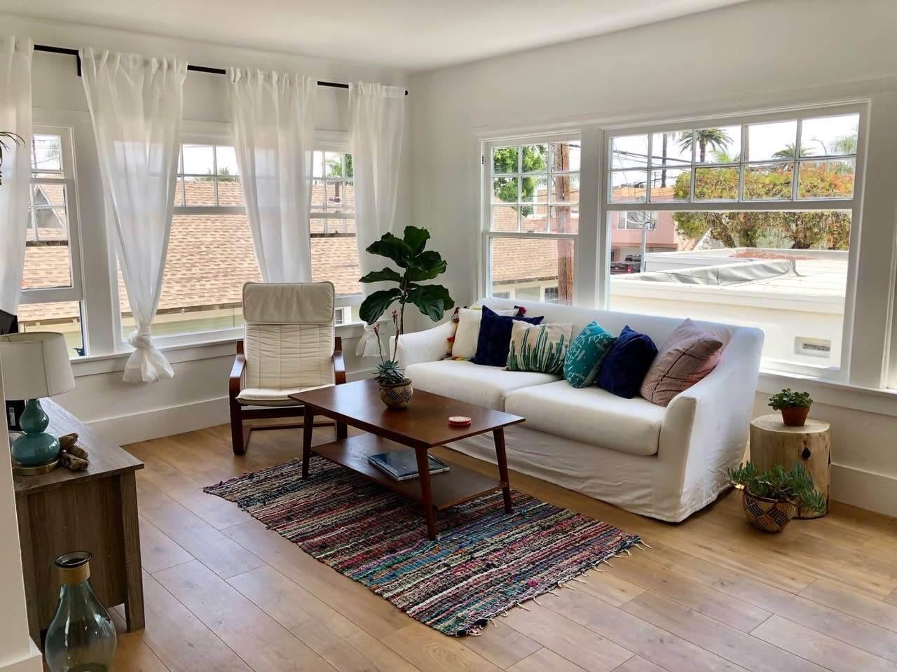 Boho Beach Retreat Airbnb, Long Beach