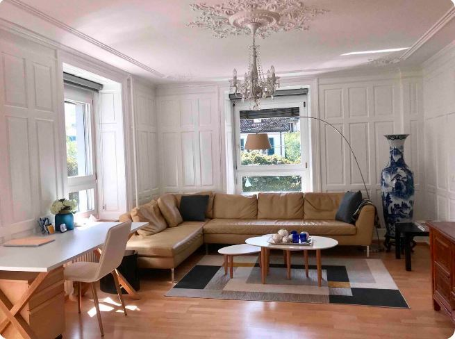 Luxury downtown two bed apartment Zurich