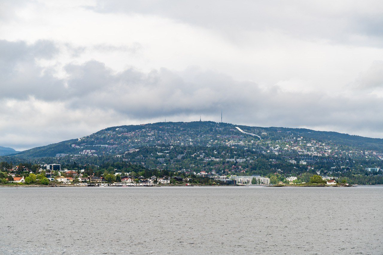 Mountain view in Oslo