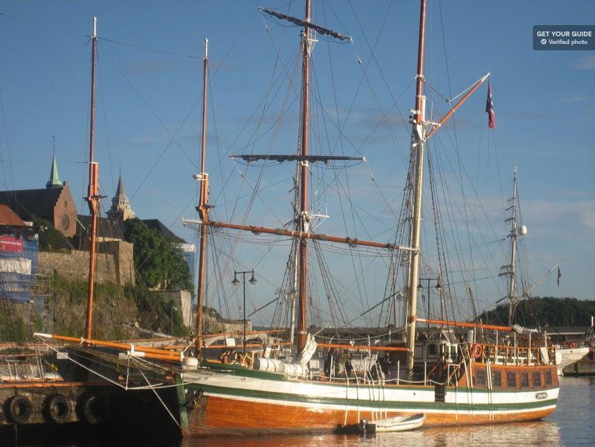 Wooden ship in Oslo