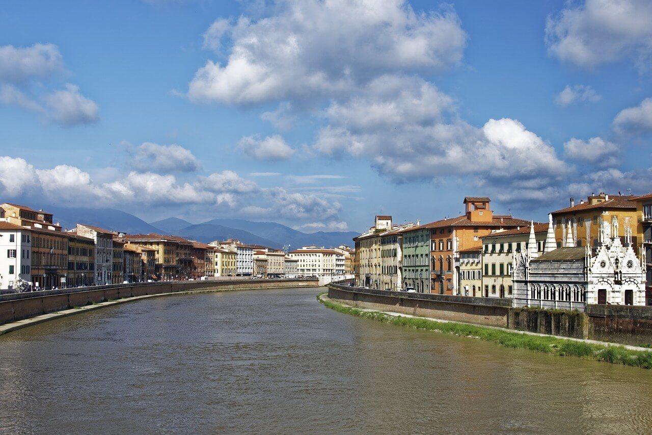 Pisa Arno River