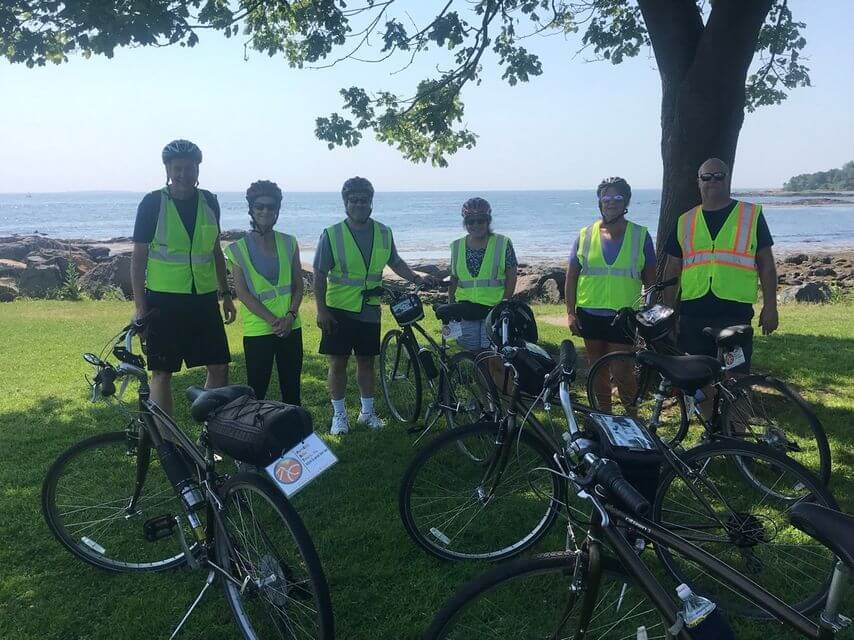 Bike tour in Portsmouth, New Hampshire
