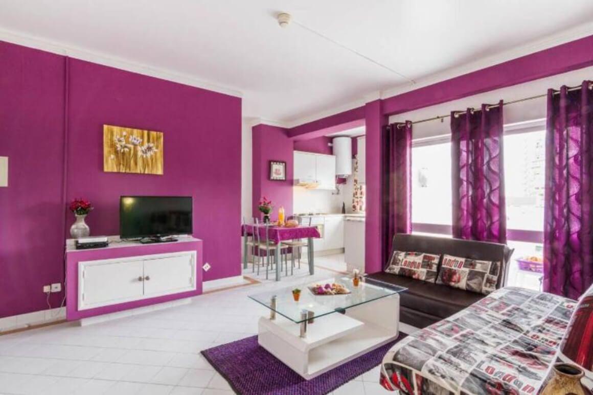 Purple Flat
