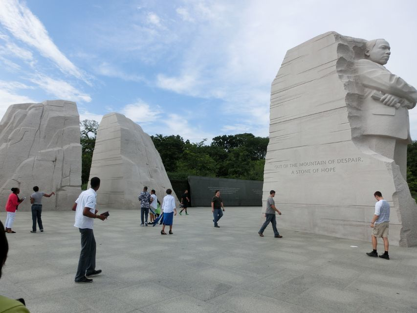 Relax and Reflect at the MLK Jr Monument