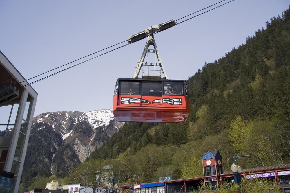 Ride the Mount Roberts Tramway Juneau