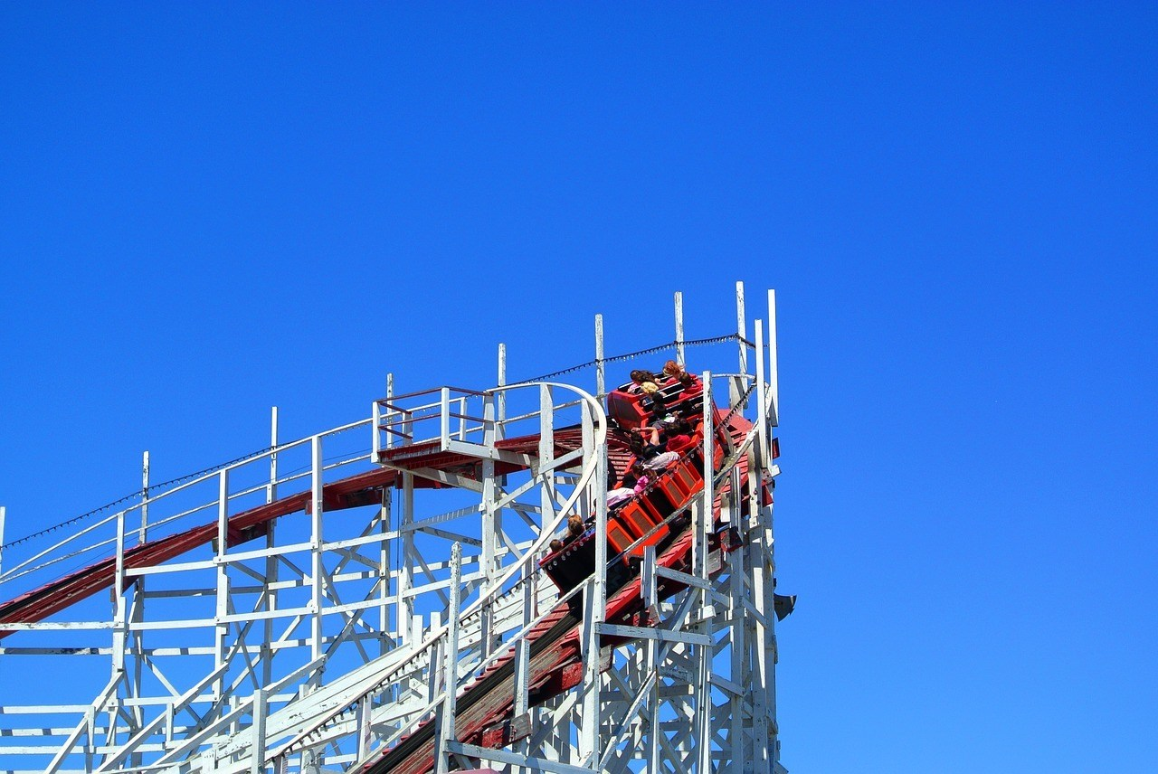 Giant Dipper in Belmont Park, San Diego