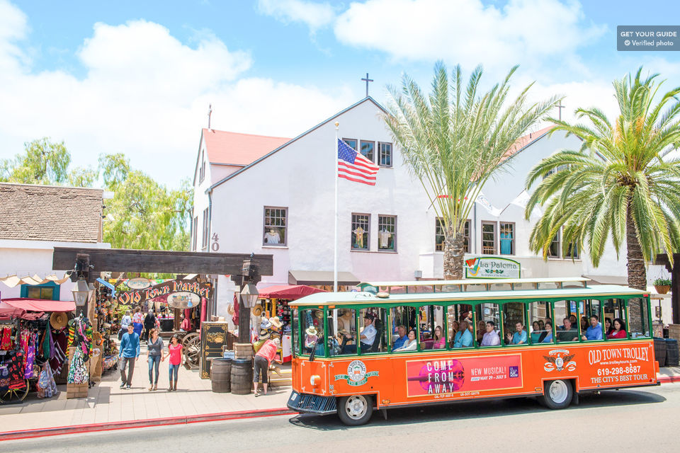 Old Town Hop-on Hop-off in San Diego