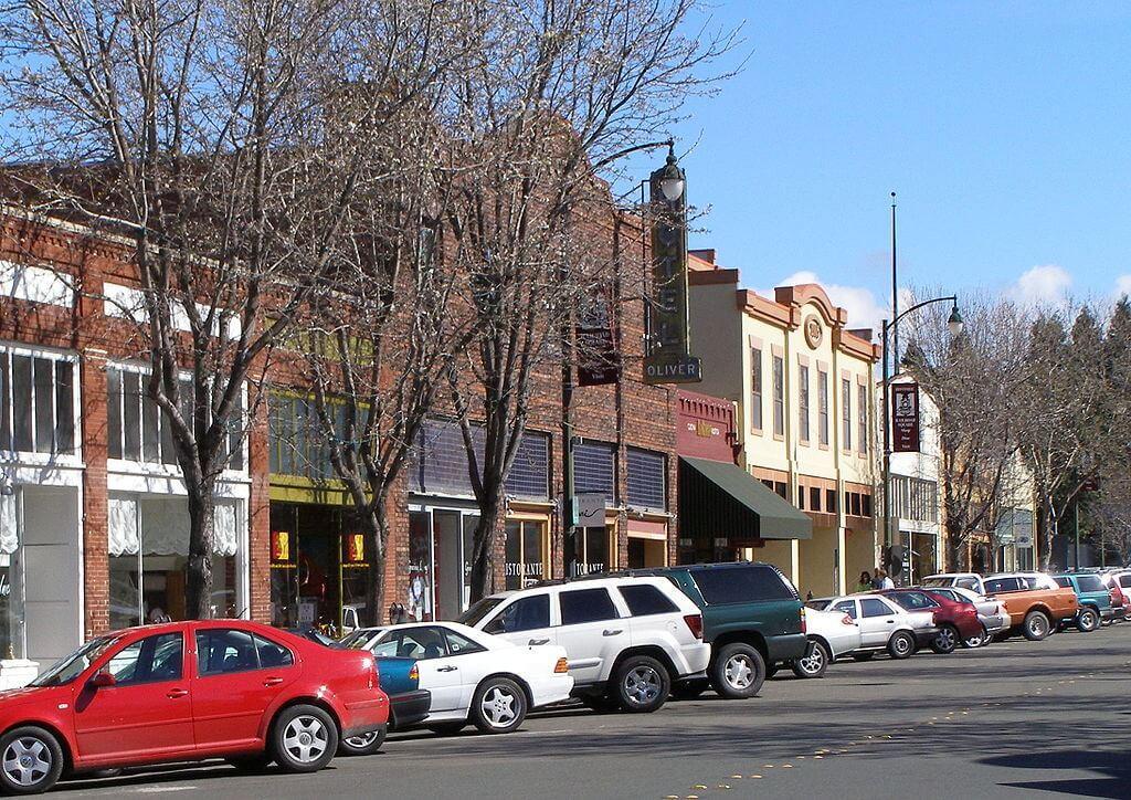 Railroad Square Historic District, Santa Rosa, California