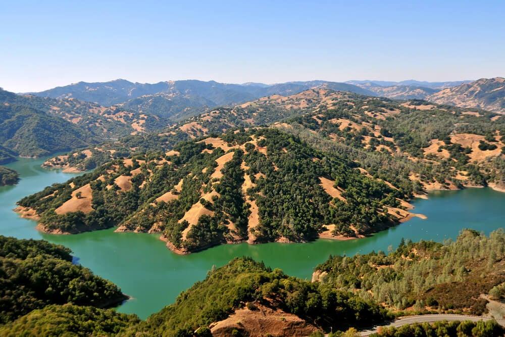 Scenery in Santa Rosa, California
