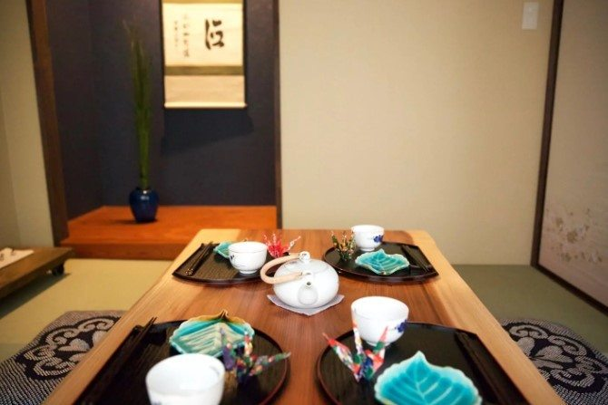 Traditional Japanese Interior, best airbnb in kobe
