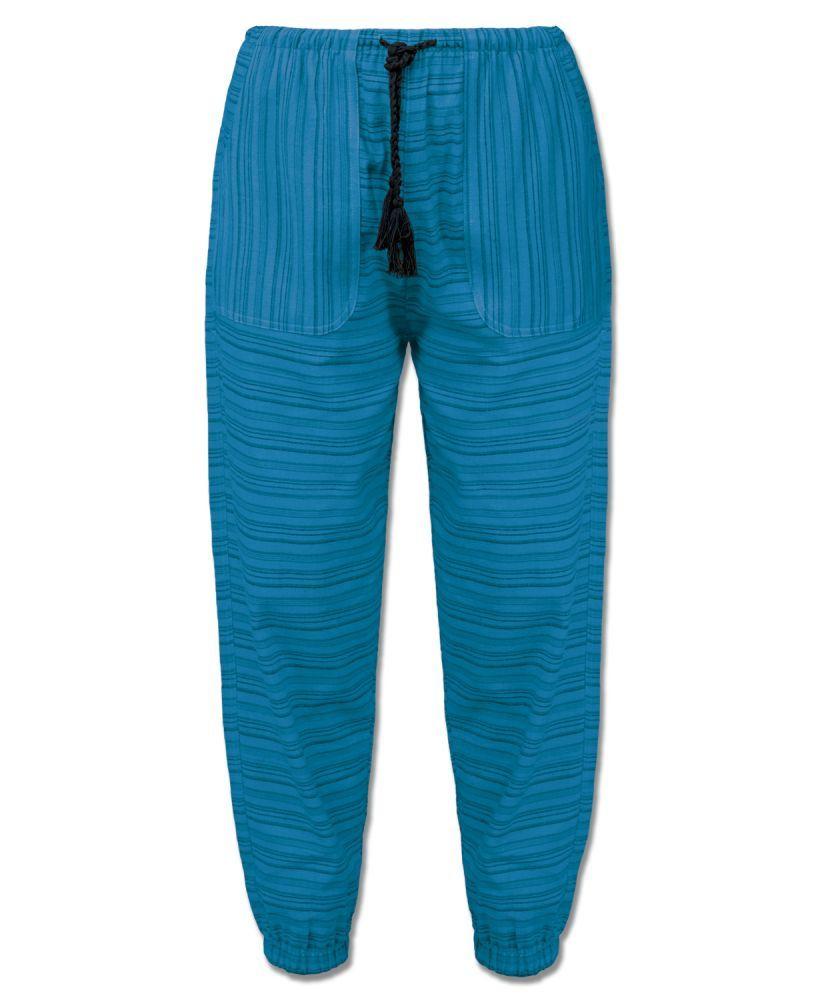 Soul Flower Striped Hippie Harem Pants
