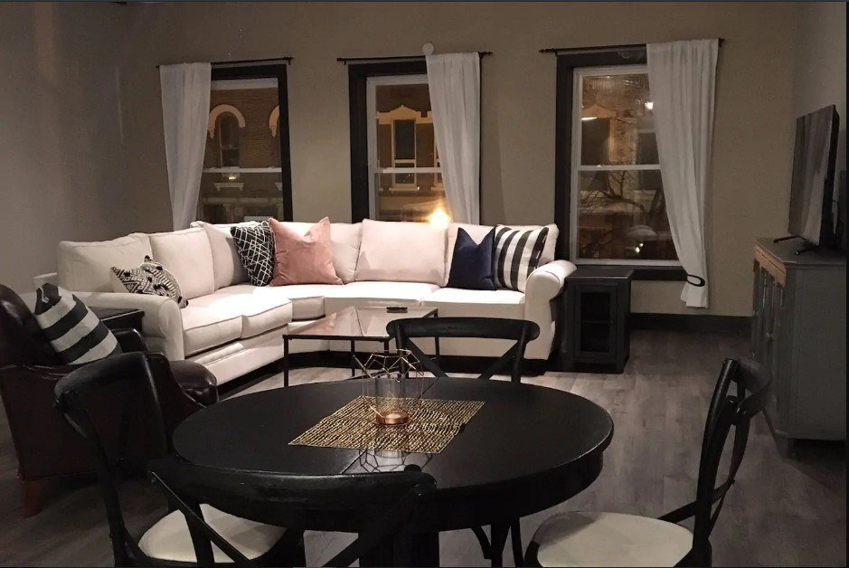 Spacious loft in the heart of downtown Rockford