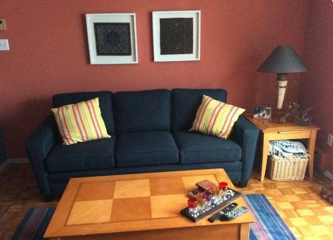 Sunny Room with Garden Patio, Toronto
