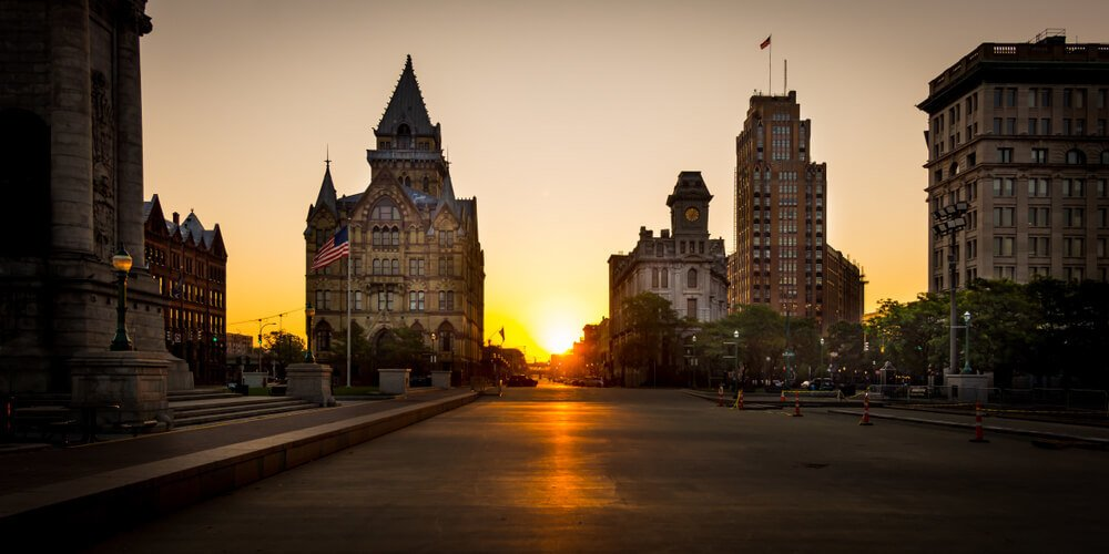 Downtown Syracuse, New York