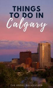 Things To Do in Calgary PIN