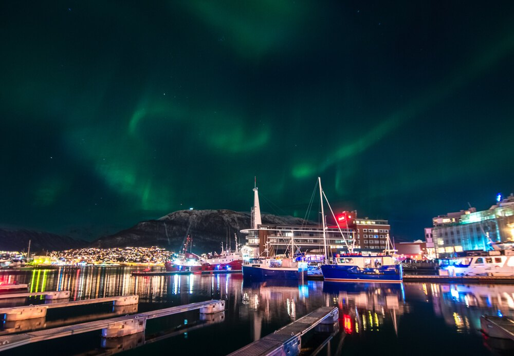 Tromso Downtown Norway